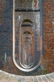 The ouse valley railway bridge royalty free stock photos