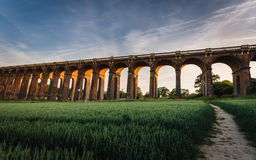 Ouse Valley Viaduct Royalty Free Stock Photo