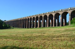 Ouse Valley Viaduct. Royalty Free Stock Photography
