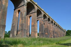 Ouse Valley Viaduct. Royalty Free Stock Photo