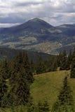 Ousoru Peak. From Dorna area, Moldova Royalty Free Stock Photos
