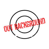 Out Background rubber stamp Stock Photos