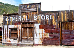 Out of business in the old west Stock Photo