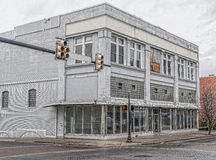 Out of Business Retail Store in Old Downtown Area Royalty Free Stock Photo