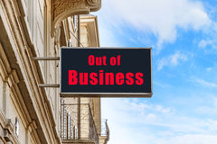 Out of Business Stock Images