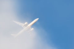 Passenger jet Royalty Free Stock Images