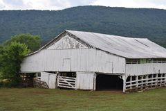 Country Drive into Georgia and found some Amazing old Barns. While out for a Country Drive into Georgia I found some Amazing old Barns stock image