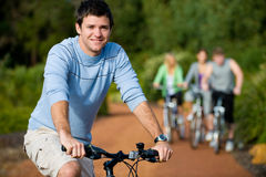 Out Cycling Royalty Free Stock Photo