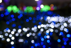 Out focus. It is real out focus in the dark night Royalty Free Stock Photo