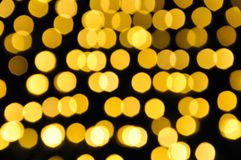 Lights blurred. Bokeh Blurred light  background for festival royalty free stock photos