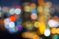 Out of focus big city Stock Photography