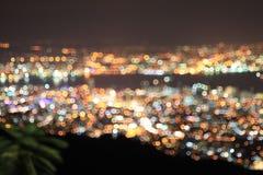 Out of focus bokeh - Eyes Blur View, Bubble Bokeh. From Meyer Optik Trioplan Stock Photos