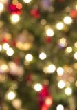 Out of focus Christmas lights Royalty Free Stock Image