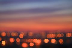 Out of focus city background royalty free stock photos