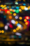 Out of Focus City Lights Royalty Free Stock Photos
