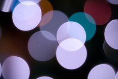 Out of focus lights. Several out of focus lights Royalty Free Stock Images