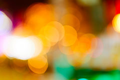 Out of focus lights background Stock Photography