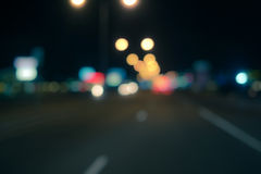 Out of focus lights Stock Images