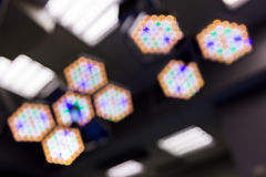 Out of focus Operating Room Lights Royalty Free Stock Photo
