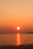 Out of focus in sunset time Royalty Free Stock Images