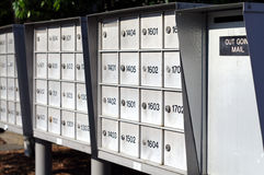 Out Going Mail Royalty Free Stock Photography