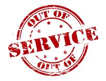 Free Out Of Service Royalty Free Stock Image - 92087526