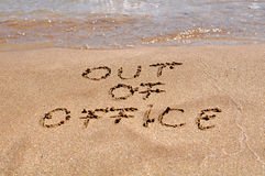 Out of office Royalty Free Stock Images