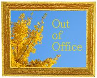 Out of office Stock Photos