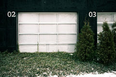 Out of order garage door Royalty Free Stock Photos