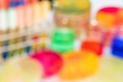 Out ostrości bood agar (półdupki); Selekcyjni środki dla bakterii wzrostowych dla Obrazy Royalty Free