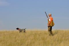 Out Ptasi polowanie Fotografia Stock