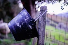 Out with the rubbish royalty free stock photography