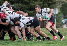 Out of the Scrum Stock Images