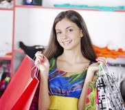 Out shopping Stock Photography