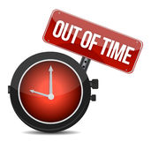 Out of time Royalty Free Stock Photography