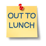 Out To Lunch Royalty Free Stock Images