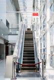 Out - - usługowy eskalator zdjęcie stock