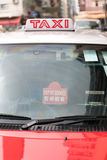 Out - - usługowy taxi Fotografia Stock