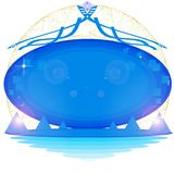 Out of this world message board Royalty Free Stock Image