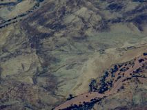 The outback. Arial photo of south Australian desert country Stock Photography