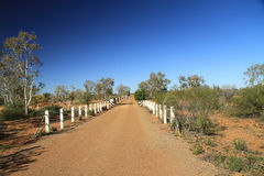 Outback Bridge Royalty Free Stock Photos