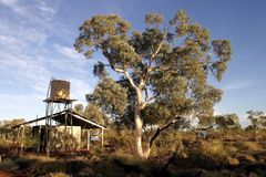 Outback Camp royalty free stock photography