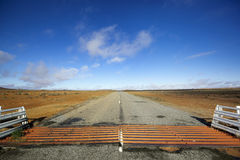 Outback Cattle Grid stock photos