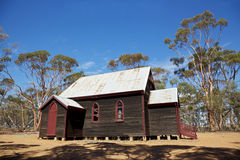 Outback Church Stock Image