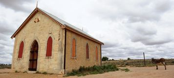 Outback Church Royalty Free Stock Images