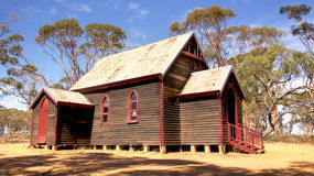Outback Church Royalty Free Stock Photo
