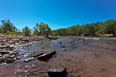 Outback Creek Royalty Free Stock Photos