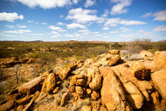 Outback Desert View Stock Photo
