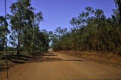 Outback drive royalty free stock photos