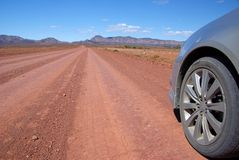 Outback Driving royalty free stock photo